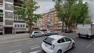 Avenida de Oporto, donde ha tenido lugar el accidente