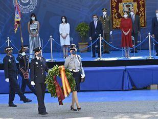 Protagonismo femenino en el Día de la Policía Municipal por sus 50 años en el Cuerpo