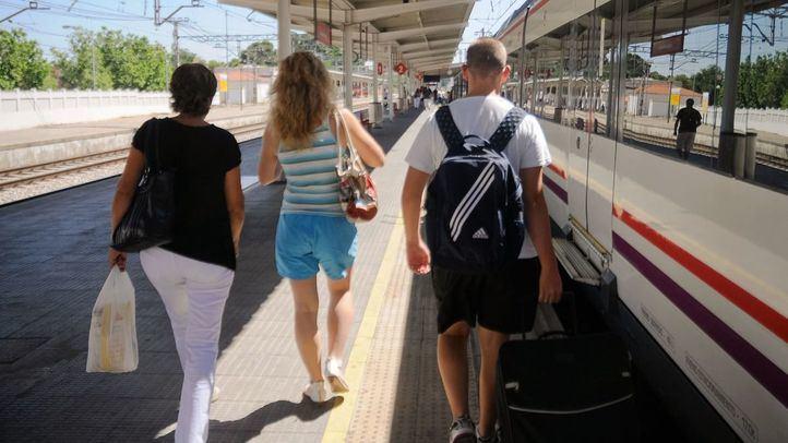 Estación de Cercanías de Alcalá de Henares.