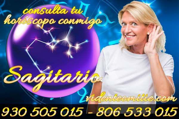 Luna Vila vidente y médium da predicciones para el horóscopo Sagitario, en el hoy, fortalece mucho tu esperanza