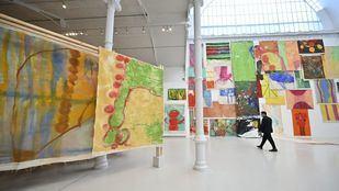 Vivian Suter y su oda a la naturaleza en el Reina Sofía