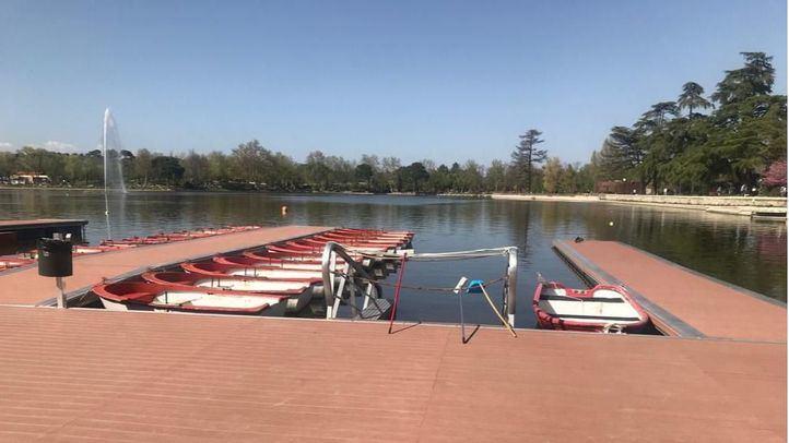 Las barcas del Retiro y Casa de Campo, a través de una app