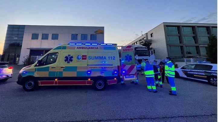 El Summa 112 atiende al hombre en Villanueva del Pardillo