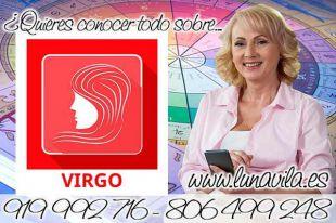 Luna Vila es de las tarotistas gratis por Whatsapp: Virgo, necesitas un tiempo para ti hoy, no todo es trabajo