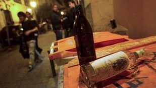 Las denuncias por botellón aumentaron un 73% en mayo en Madrid