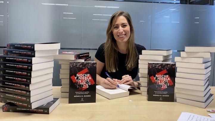 Mónica González presenta el libro 'Noche y niebla en los campos nazis'