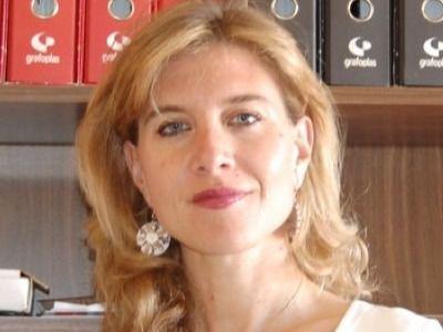 La militante socialista de Paracuellos Eva Llarandi, precandidata a liderar el PSOE-M