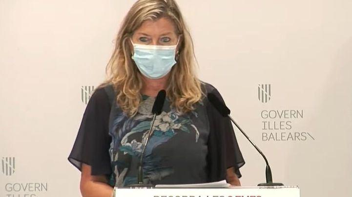 La Consellera de Salud y Consumo balear, Patricia Gómez