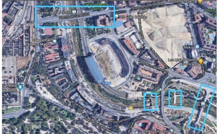 Una nueva pasarela entre el Puente de Toledo y el de San Isidro conectará Carabanchel y Arganzuela