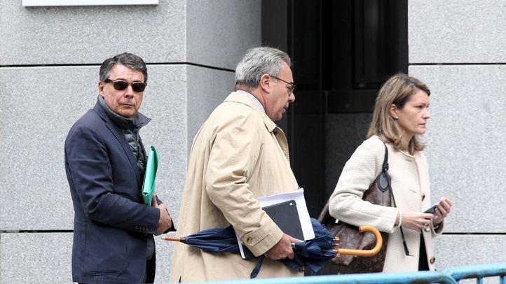 Ignacio González sale de la Audiencia Nacional en octubre de 2019 tras testificar en el caso Púnica