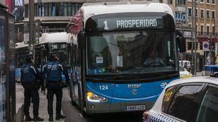 Los buses de la EMT ofrecerán viajes gratis en hora punta en septiembre
