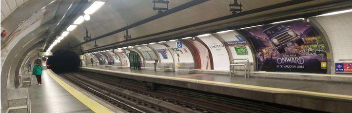 La L6 de Metro, cerrada entre Pacífico y Sainz de Baranda hasta final de mes