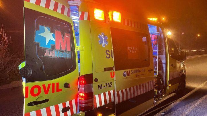 Una ambulancia del Summa en una imagen de archivo