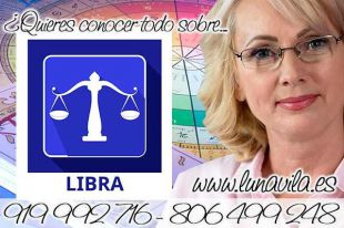 Luna Vila tiene chat de tarotistas y videntes gratis en directo: Libra, estarás rodeado de buenas vibras hoy