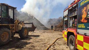 Arde una planta de compostaje en San Sebastián de los Reyes sin registrar heridos