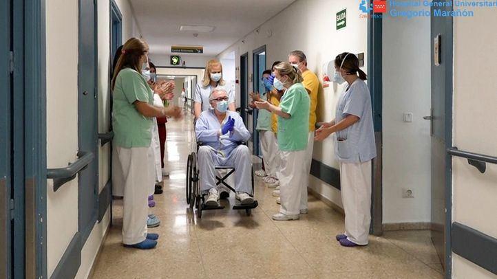 Andrés Rojo, el paciente 6.000 que ha superado el Covid en el Hospital Gregorio Marañón