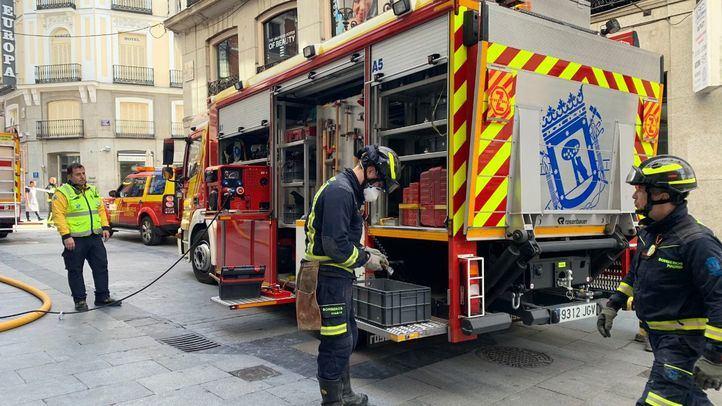 Un incendio sin heridos calcina una vivienda en San Sebastián de Los Reyes