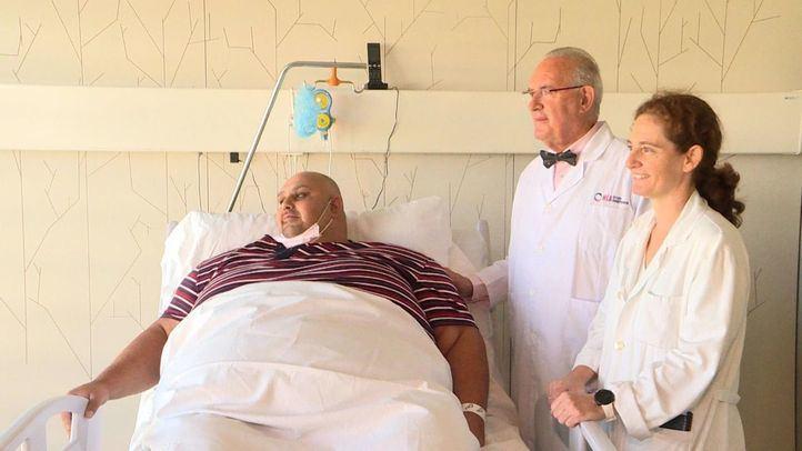 Un hombre, operado en Madrid para perder 200 kilos