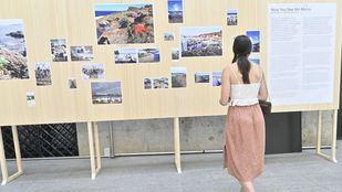 Una exposición sobre los refugiados en Moria