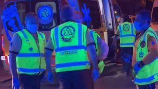 La Policía investiga dos apuñalamientos diferentes ocurridos este domingo en Usera