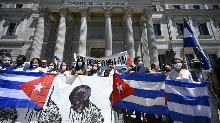 Ayuso, Monasterio, Almeida y Villacís se solidarizan con el pueblo cubano