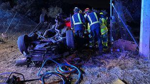 Fallece un joven de 24 años en un accidente de tráfico en Valdemorillo