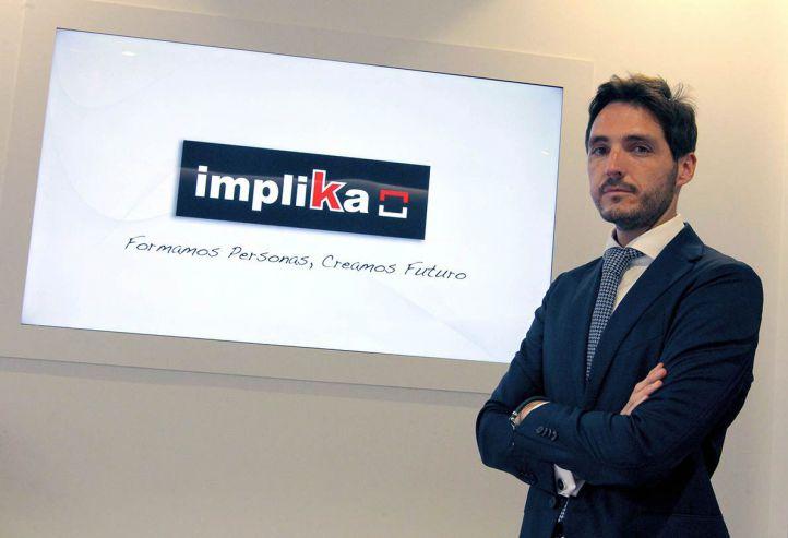 """Zigor Maritxalar, CEO de Implika: """"Actualmente las empresas demandan más titulados en FP que universitarios"""""""