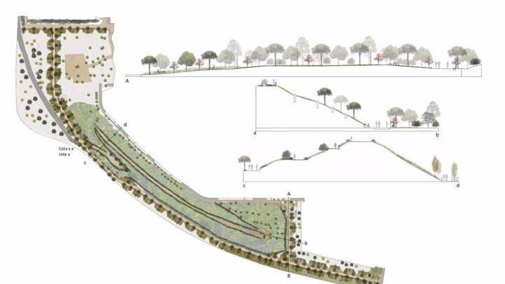 El Ayuntamiento acondicionará el borde forestal de Orcasitas del Bosque Metropolitano