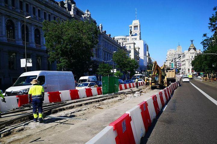 Mapa del Madrid en obras: nueve reformas en la calle y 25 equipamientos en construcción