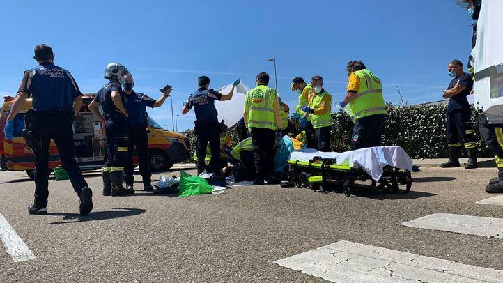 Herido grave un joven de 19 años atropellado por un coche en Valdebebas
