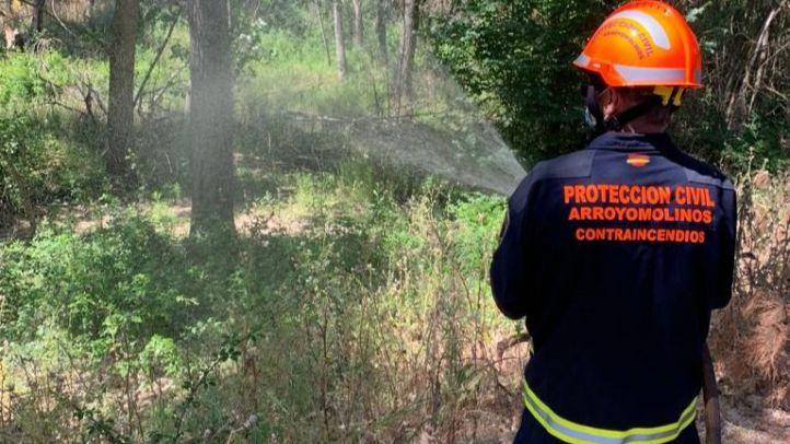 Arroyomolinos activa un retén de prevención frente a incendios forestales