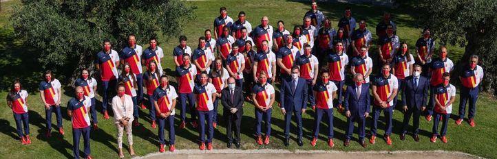 Los deportistas olímpicos, despedidos por Sánchez y los Reyes antes de viajar a los JJOO