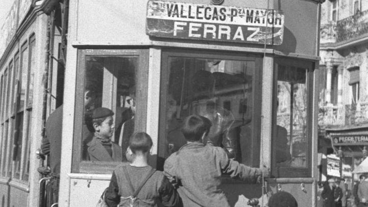 La Biblioteca Regional acoge una muestra sobre los 150 años del tranvía madrileño