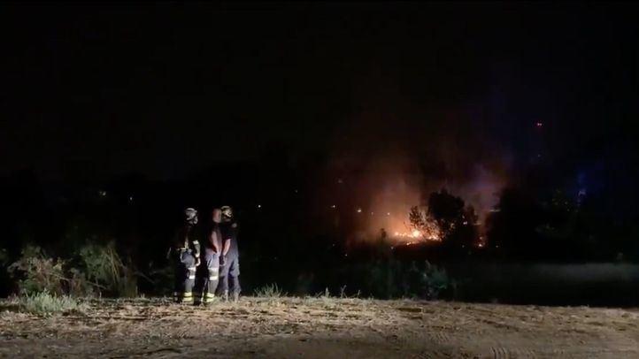 Extinguido un incendio que ha afectado a casi seis hectáreas de la Dehesa de la Villa
