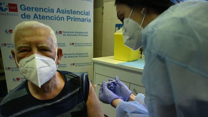 Madrid ya ha inmunizado frente al Covid al 95% de los mayores de 70 años
