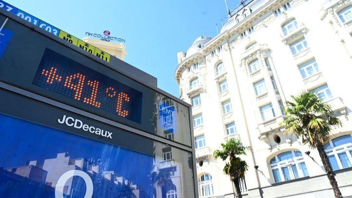 El calor volverá a poner este lunes a Madrid en alerta amarilla con máximas de 39 grados