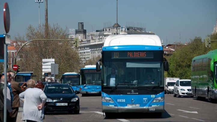 Autobuses gratuitos enlazarán Atocha y Nuevos Ministerios durante las obras en Cercanías
