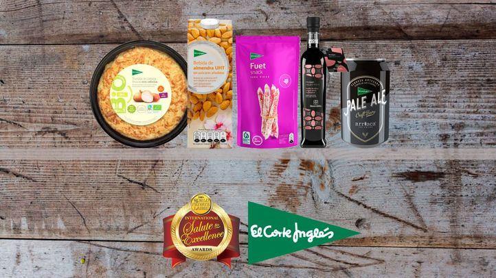 La marca El Corte Inglés logra cinco premios en la Feria PLMA
