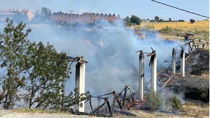 Incendio en Móstoles