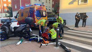 En estado grave un joven de 25 años atropellado en un cruce de calles de Ciudad Lineal