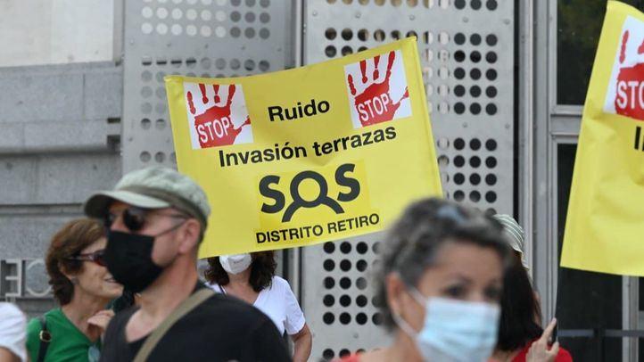 Asociaciones vecinales de Centro, Retiro, Arganzuela y Chamberí protestarán en Cibeles por la degradación de sus barrios