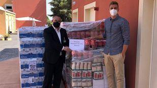 Mercadona dona cuatro toneladas de productos de primera necesidad a Mensajeros de la Paz