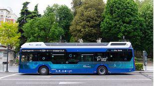 Autobús de hidrógeno verde