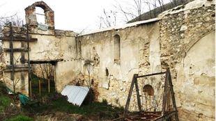 La Ermita de Orcález, en estado de abandono
