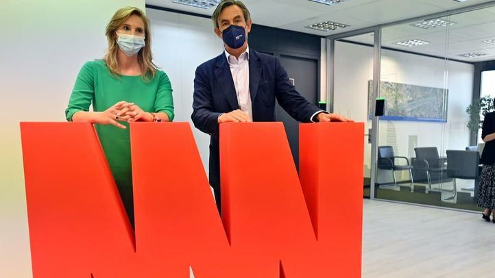 Reunión de Paloma Martín con Álvaro Aresti sobre Madrid Nuevo Norte
