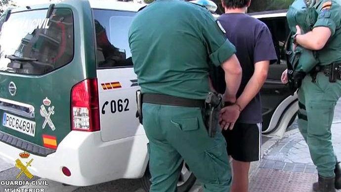 La Guardia Civil detiene a siete líderes de DDP