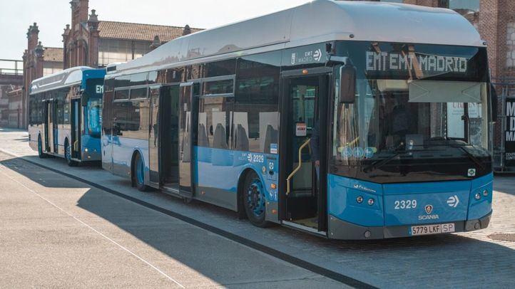 Autobuses gratuitos enlazan Atocha y Nuevos Ministerios por las obras en Cercanías