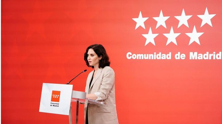 Isabel Díaz Ayuso, presidenta de la Comunidad de Madrid, en una imagen de archivo