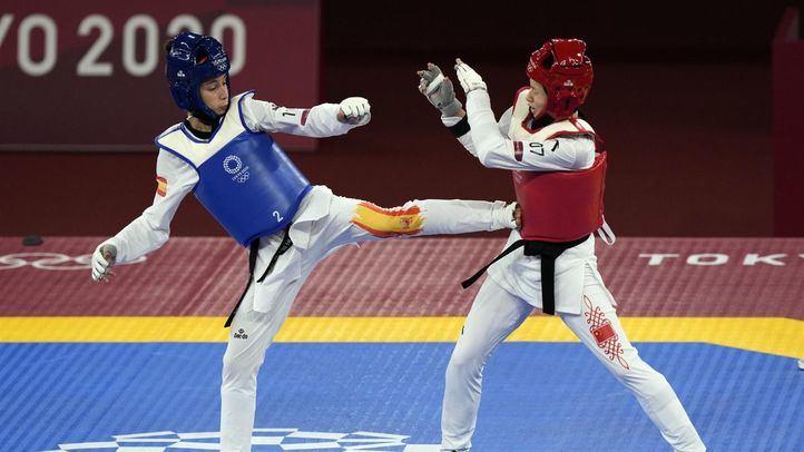 La madrileña Adriana Cerezo consigue la plata de taekwondo