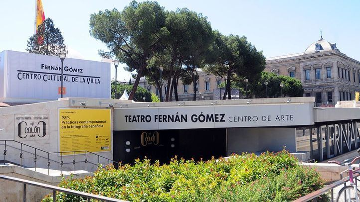 Centro Cultural Villa Fernan Gomez, arriba la terraza